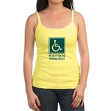 Handicapped Parking Tank Top