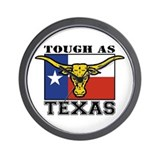 Tough as Texas Wall Clock