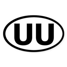 Basic UU Bumper Decal