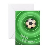 Soccer Ball - Birthday Card