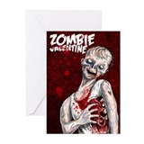 Zombie Valentine Greeting Cards 10 pack