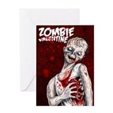 Zombie Valentine Greeting Card