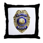 P.E. Detective Throw Pillow