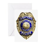 P.E. Detective Greeting Cards (Pk of 10)