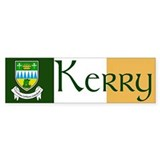 County Kerry Bumper Car Sticker