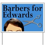 Barbers for Edwards Yard Sign