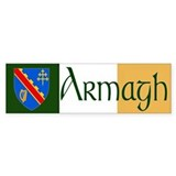 County Armagh Bumper Bumper Sticker