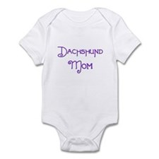 Dachshund Mom 5 Infant Bodysuit