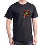 Dark Purple Daylily Dark T-Shirt