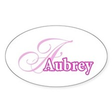 Aubrey Oval Decal