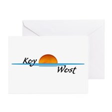 Key West Sunset Greeting Cards (Pk of 10)