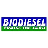 BIODIESEL Bumper Car Sticker