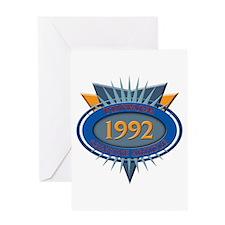 1992 Greeting Card