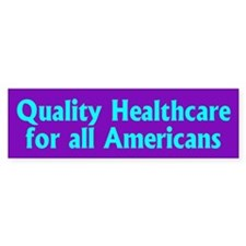 HEALTHCARE Bumper Bumper Sticker