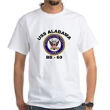 USS Alabama BB 60 Shirt
