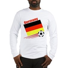 Germany Soccer Team Long Sleeve T-Shirt