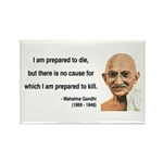 Gandhi 17 Rectangle Magnet (10 pack)