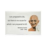 Gandhi 17 Rectangle Magnet (100 pack)
