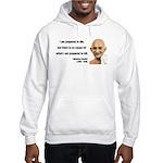 Gandhi 17 Hooded Sweatshirt