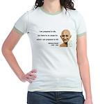 Gandhi 17 Jr. Ringer T-Shirt