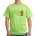 Gandhi 17 Green T-Shirt