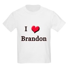 I Love (Heart) Brandon T-Shirt