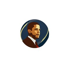 Barack Obama Icon Mini Button