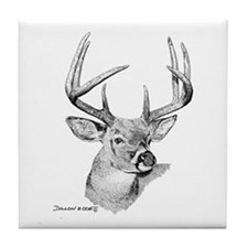 Whitetail Deer Tile Coaster