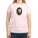 Go Bear Women's Pink T-Shirt