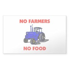 FARMER Rectangle Decal