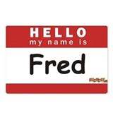 Fred Postcards (Package of 8)