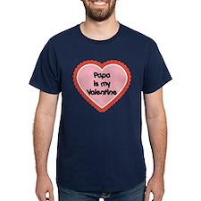 Papa is My Valentine T-Shirt