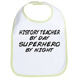 History Teacher Superhero Bib