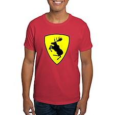 """Prancing Moose T-Shirt, 9"""" moose"""