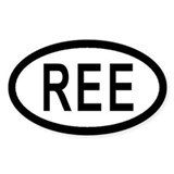 Reese Air Force Base Euro Style Decal