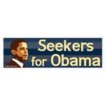 Seekers for Obama Bumper Sticker