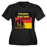 Rothenburg ob der Tauber  Women's Plus Size V-Neck
