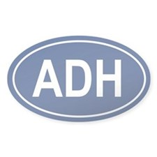 ADH Oval Decal