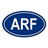 ARF Oval Decal