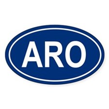 ARO Oval Decal