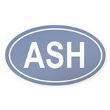 ASH Oval Decal
