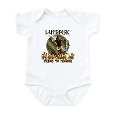 Anti Lutefisk humor Infant Bodysuit