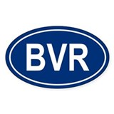 BVR Oval Decal