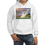 Cloud Angel & Samoyed Jumper Hoody