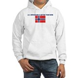 25 PERCENT NORWEGIAN IS BETTE Hoodie