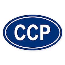 CCP Oval Decal