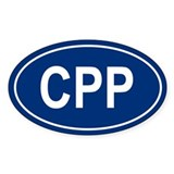 CPP Oval Decal