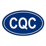 CQC Oval Decal