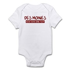 Des Moines (been there) Infant Bodysuit