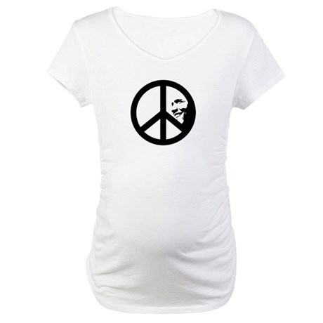 Obama for Peace Maternity T-Shirt